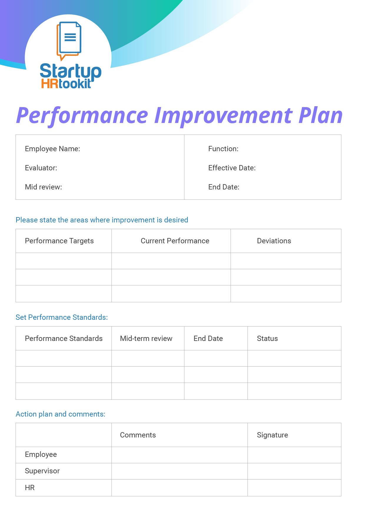 performance management template download for review. Black Bedroom Furniture Sets. Home Design Ideas