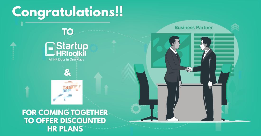 StartupHR Toolkit Partners With Startupbuddy
